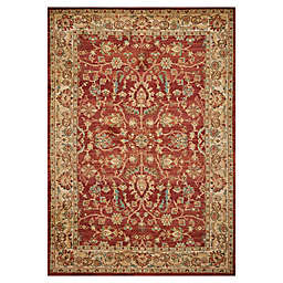 """KAS Cordoba Heritage 3'3"""" x 4'11"""" Accent Rug in Spice/Sand"""