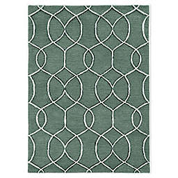 """Libby Langdon Upton Groovy Gate 2'3"""" x 8' Runner in Charcoal"""
