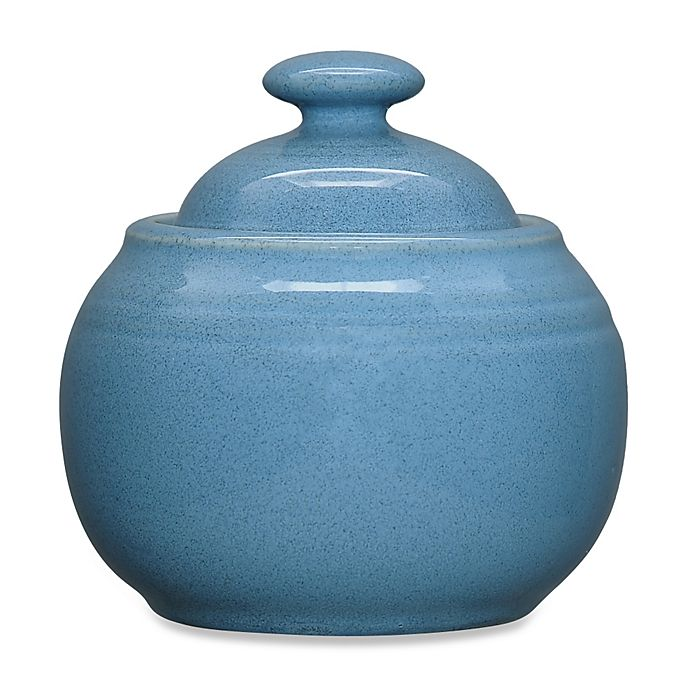 Alternate image 1 for Noritake® Colorvara Covered Sugar Bowl in Blue