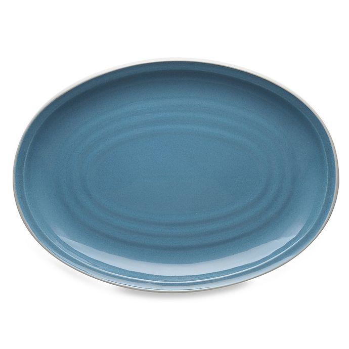 Alternate image 1 for Noritake® Colorvara 16-Inch Oval Platter in Blue
