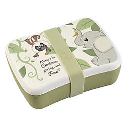 Precious Moments® Elephant & Monkey 2-Piece Bento Box