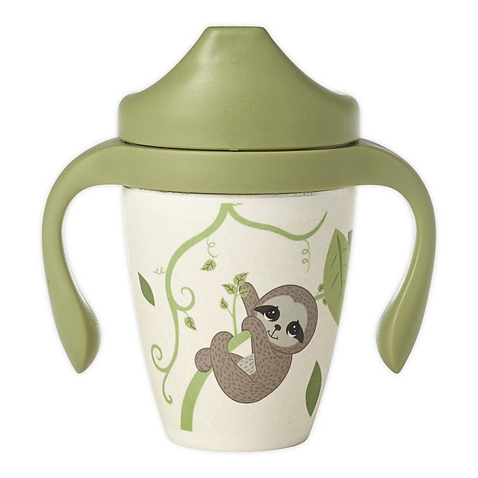 Alternate image 1 for Precious Moments® 10 oz. Elephant & Monkey Sippy Cup