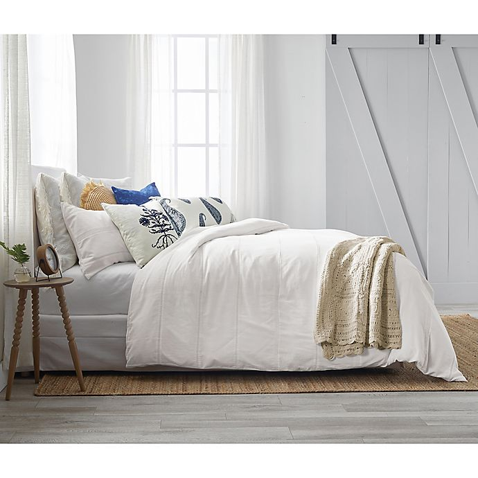 Alternate image 1 for Bee & Willow™ Home with Lauren Liess Lightweight Eyelet Lace Comforter Set