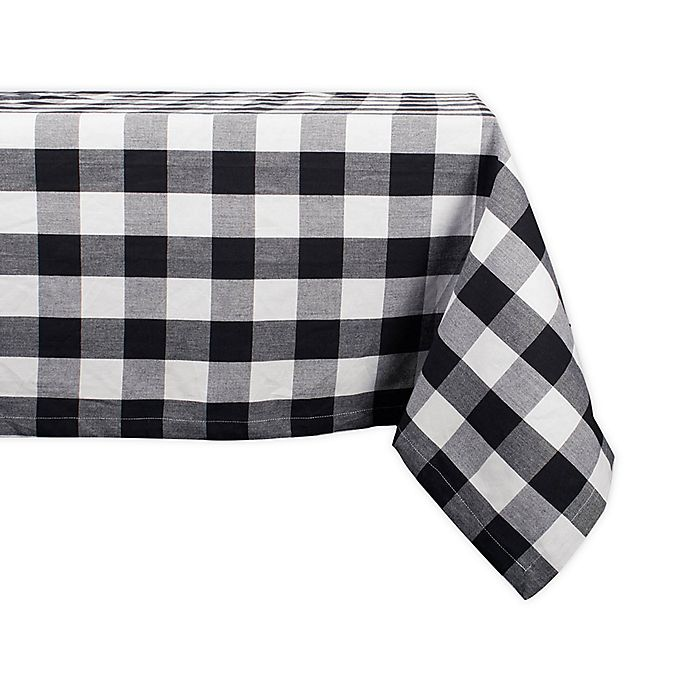 Alternate image 1 for Design Imports Buffalo Check Tablecloth