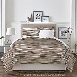 Springs Home Texture 3-Piece Comforter Set in Brick