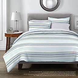 Stripe 3-Piece Duvet Cover Set