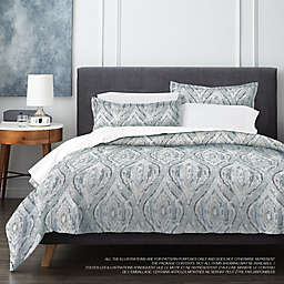 Springs Home Medallion 3-Piece Duvet Cover Set