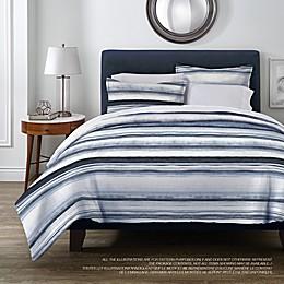 Springs Home Ocean Stripe 3-Piece Duvet Cover Set