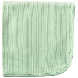 Touched by Nature Organic Cotton Swaddle Blanket in Celery