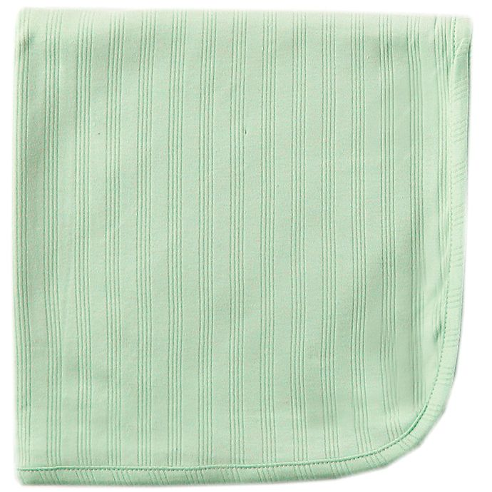 Alternate image 1 for Touched by Nature Organic Cotton Swaddle Blanket in Celery