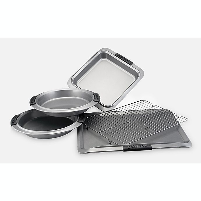 Alternate image 1 for Anolon® Advanced 5-Piece Bakeware Set