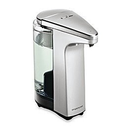 simplehuman® Compact Sensor Pump Soap Dispenser with Sample Soap