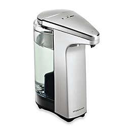 simplehuman® Compact Sensor Pump Soap Dispenser with Sample Soap