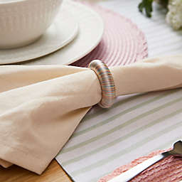 Spring Yarn Wrap Napkin Rings (Set of 12)