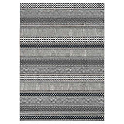 "KAS Terrace Moda 5' x 7'6"" Area Rug in Taupe"