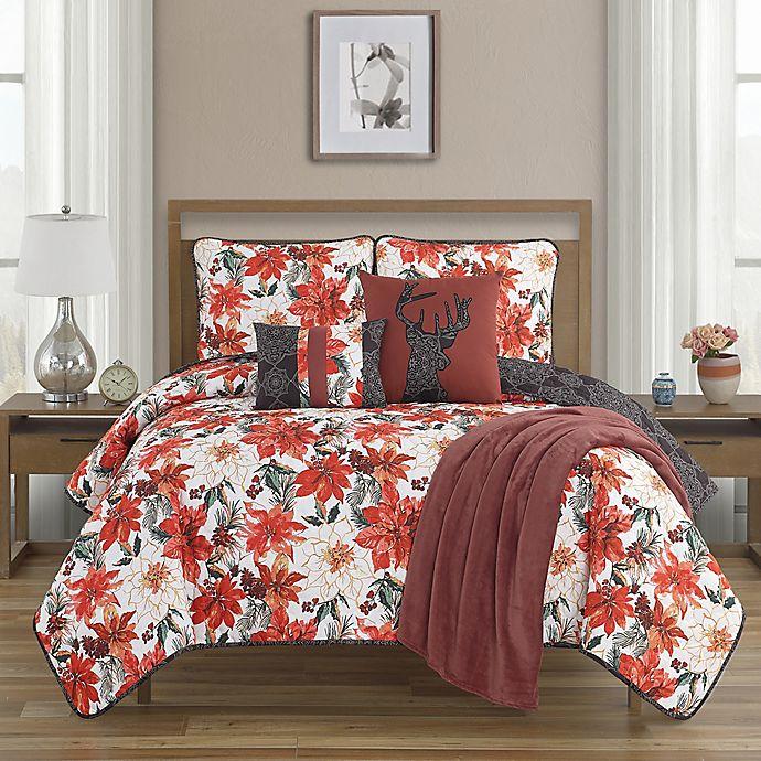 Alternate image 1 for Primera Flor 6-Piece Reversible Quilt Set