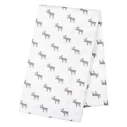 Trend Lab® Moose Jumbo Deluxe Flannel Swaddle Blanket