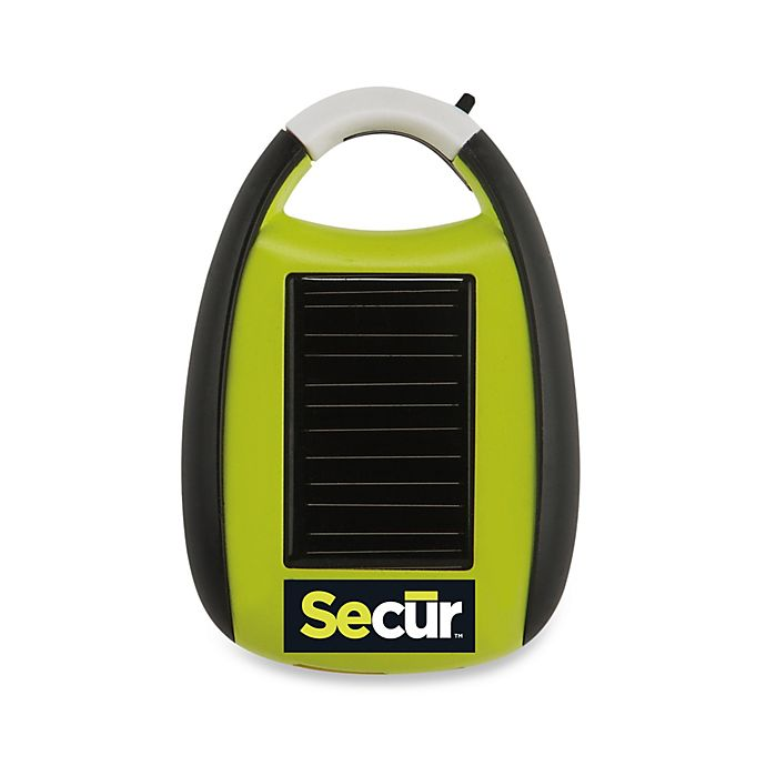 Alternate image 1 for Secur Solar-Powered Mini Cell Phone Charger