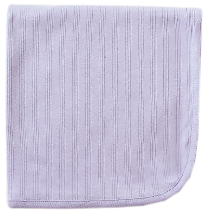Alternate image 1 for Touched by Nature® Organic Cotton Swaddle Blanket in Lavender