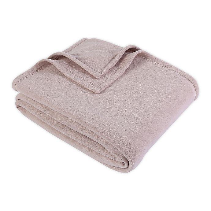 Alternate image 1 for Berkshire Blanket® Original Microfleece™ Twin Blanket in Mocha