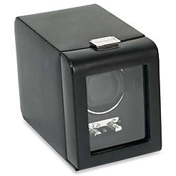 Wolf Designs® Module 2.1 Heritage Single Watch Winder with Black Cover