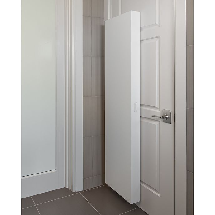 Alternate image 1 for Cabidor® Concealable Hinge-Mounted Storage Cabinet