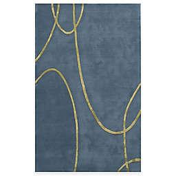 Rugs America Millennium Rug in Electric Blue