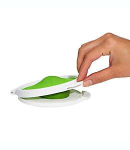 Contenedor para conservar cítricos OXO Good Grips® Cut & Keep en verde