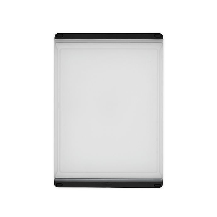 Alternate image 1 for OXO Good Grips® 9-Inch x 12.9-Inch Everyday Polypropylene Cutting Board