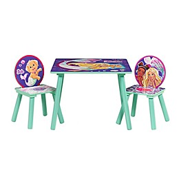 Barbie™ Mermaid Table and Chairs Set