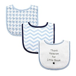 Luvable Friends® 3-Pack Drooler Bibs