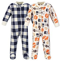Hudson Bay Forest 2-Pack Fleece Sleep 'N Play Fleece Pajamas