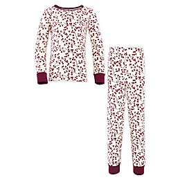 Touched By Nature® 2-Piece Berry Branch Organic Cotton Pajama Set