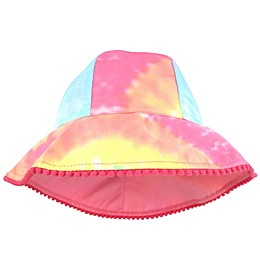 Tie-Dye Woven Cotton Hat