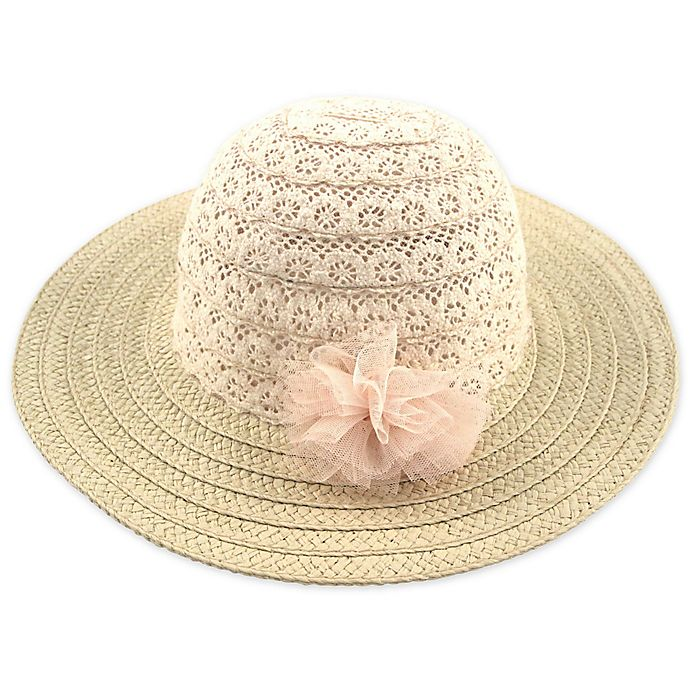Alternate image 1 for Addie & Tate Woven Sun Hat in Natural