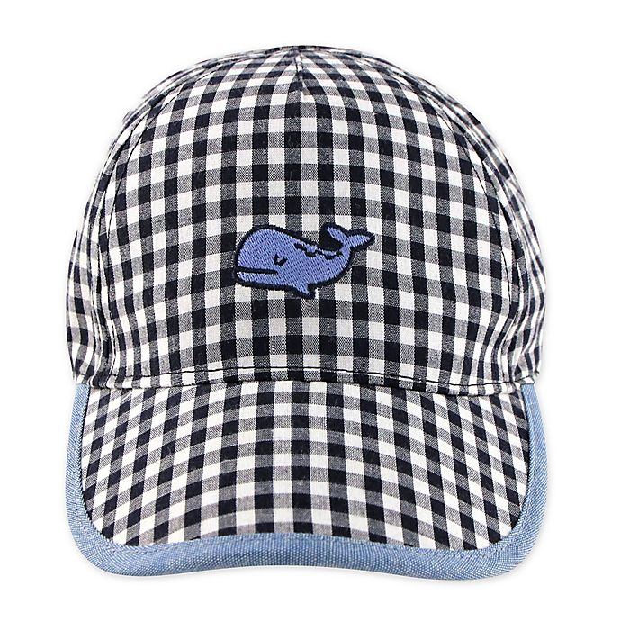 Alternate image 1 for Addie & Tate Whale Cap in Black/Navy