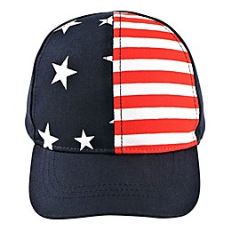Addie & Tate Americana Cap in Red/White/Blue