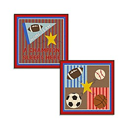 Sports Wall Plaque