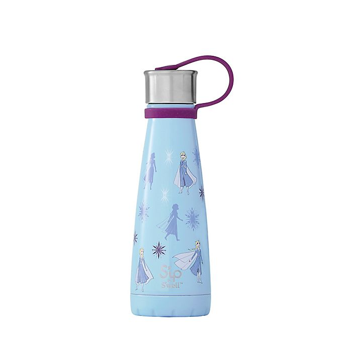 Alternate image 1 for S'ip By S'well™ Queen of Arendelle 10 oz. Water Bottle in Blue