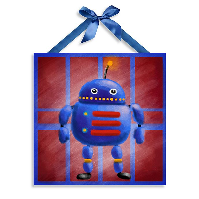 Alternate image 1 for Robot Canvas Wall Art II