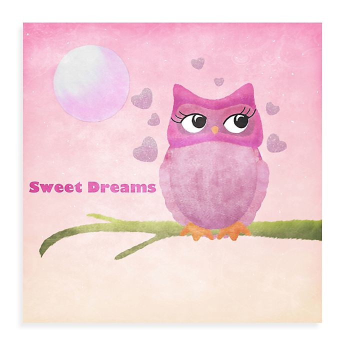 Alternate image 1 for Owl Canvas Wall Art II
