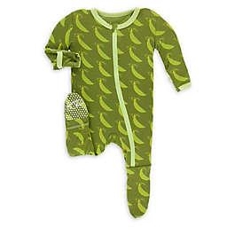 KicKee Pants® Toddler Grasshopper Footie Pajama in Green