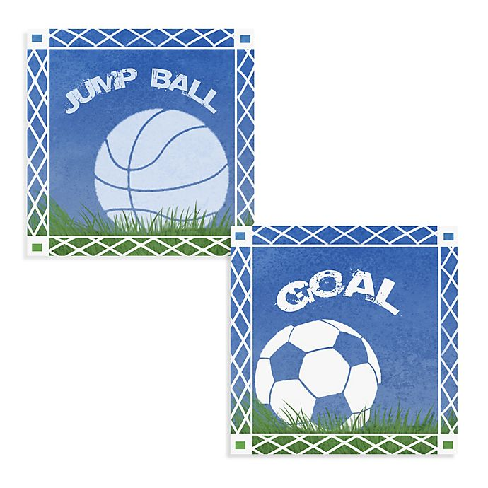 Alternate image 1 for Goal Canvas Wall Art