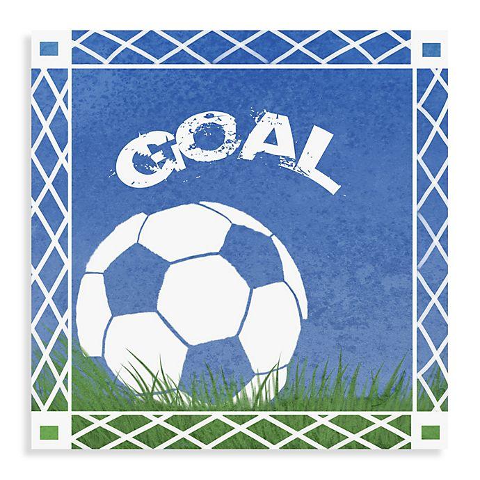 Alternate image 1 for Goal Canvas Wall Art I