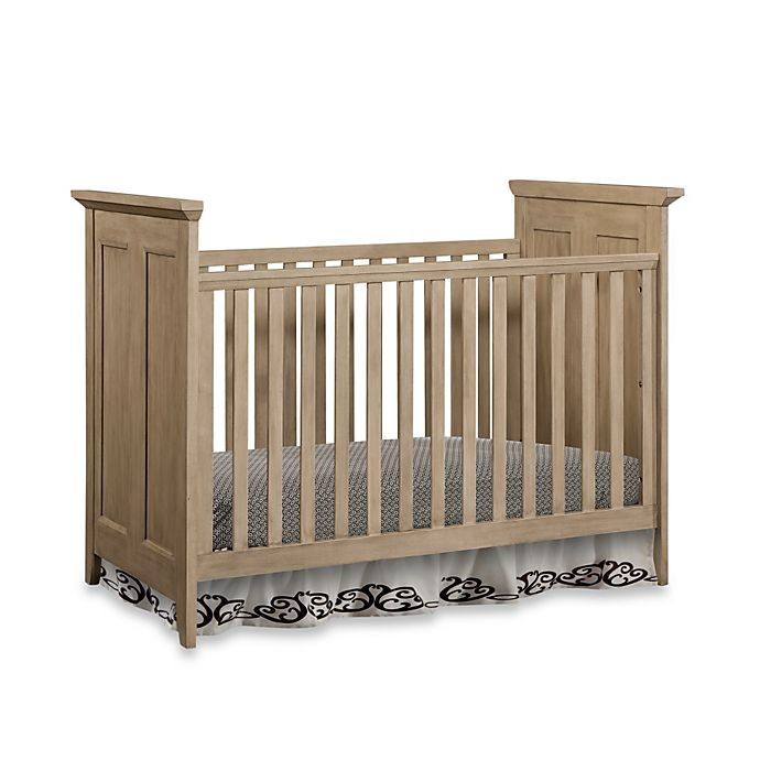 Alternate image 1 for Newcastle Cottage Crib with Vintage Finish
