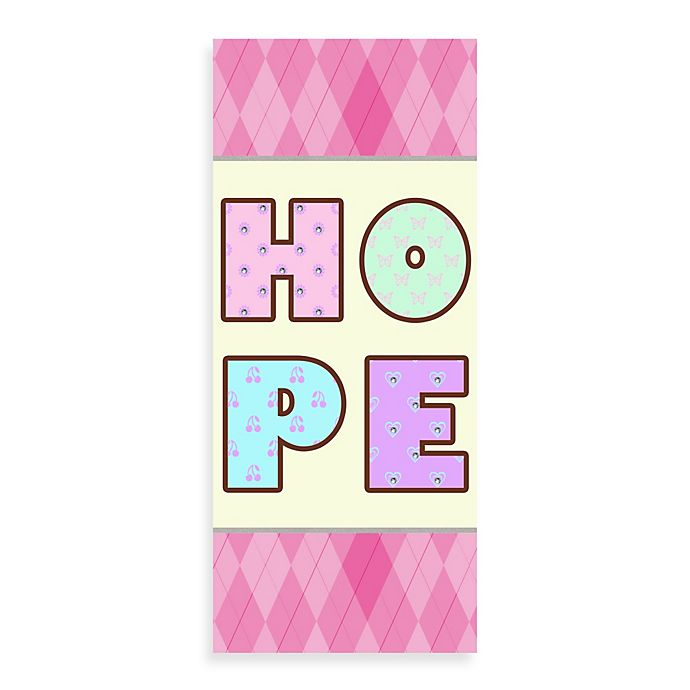 Alternate image 1 for Hope Canvas Wall Art