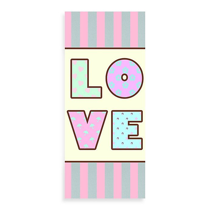 Alternate image 1 for Love Canvas Wall Art