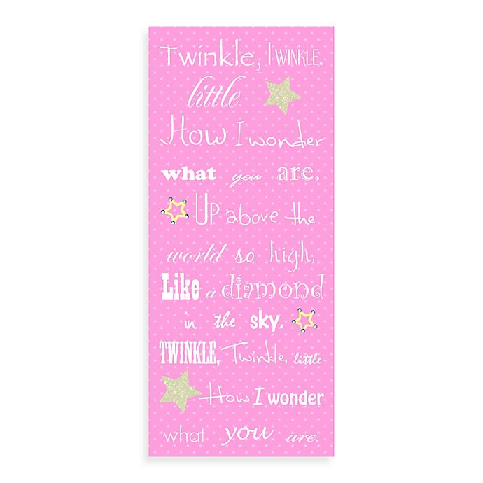 Alternate image 1 for Twinkle Canvas Wall Art