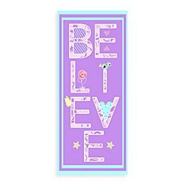 Believe Canvas Wall Art