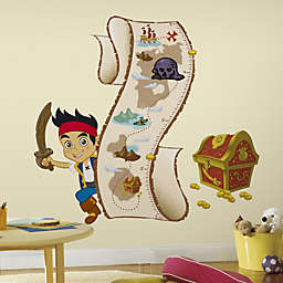RoomMates Jake and the Never Land Pirates Peel & Stick Growth Chart